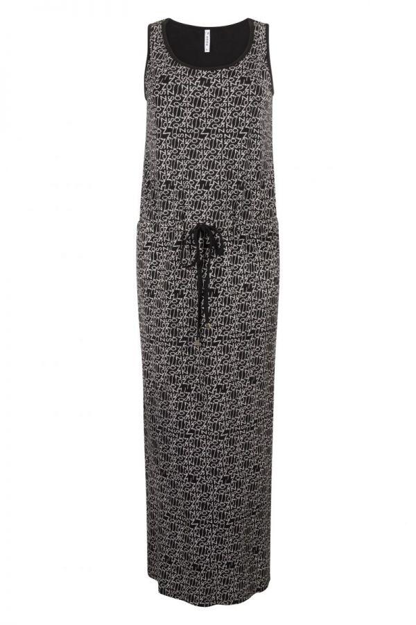 Zoso Printed Maxi Dress 214 Maxi Black.