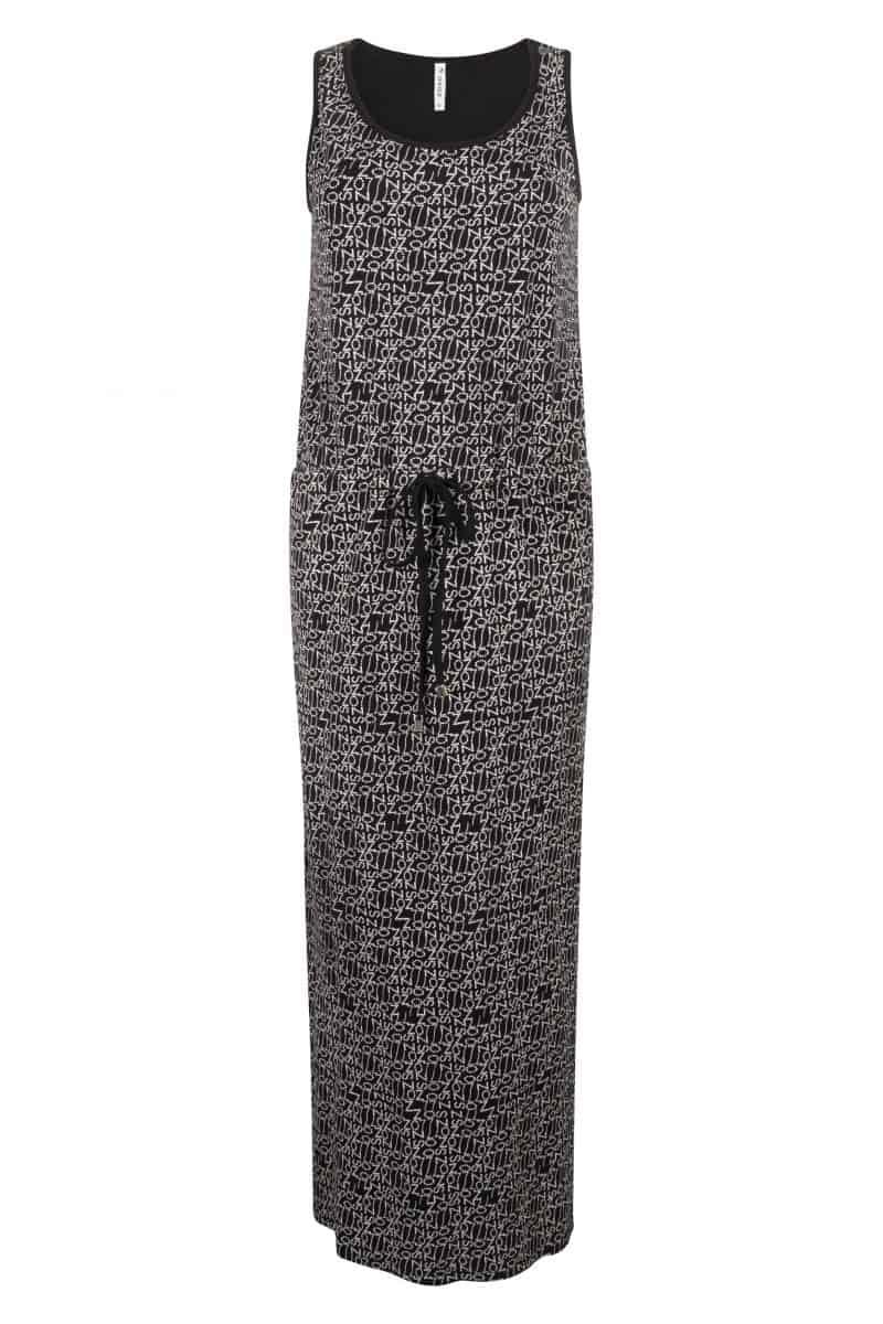Zoso Printed Dress 214 Maxi Black