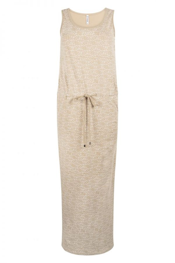 Zoso Printed Dress 214 Maxi Sand