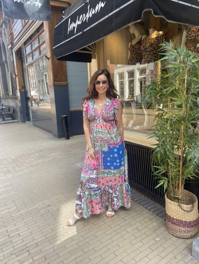 Maxi Dress Olivia Multiprint