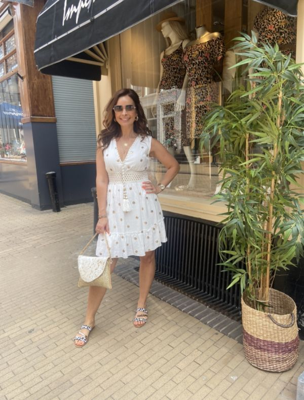Dress Ibiza-Style Met Pailletten