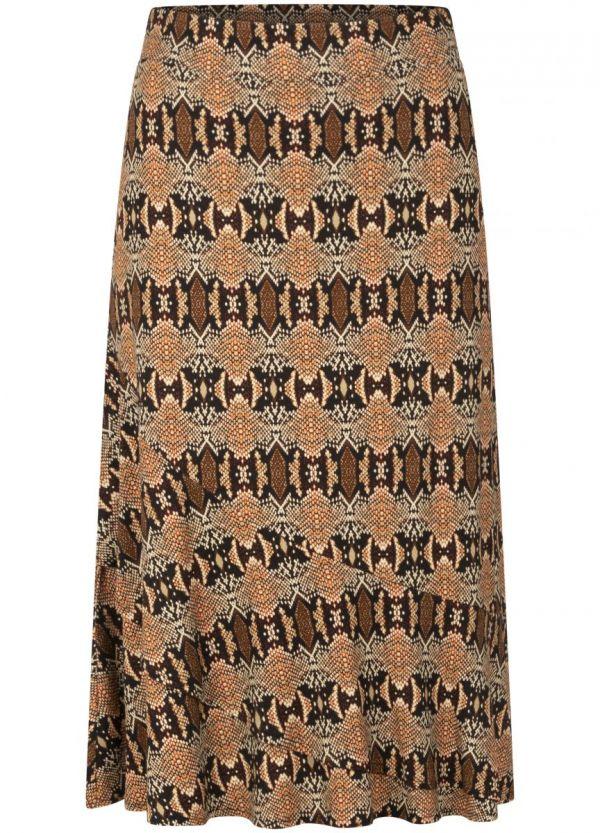 Tramontana Skirt Hypnotic Snake Print