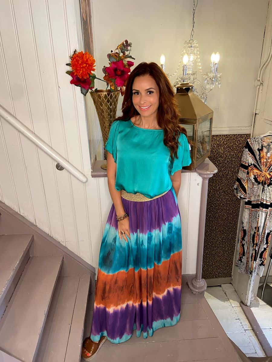 Maxi Rok Esther Multicolor