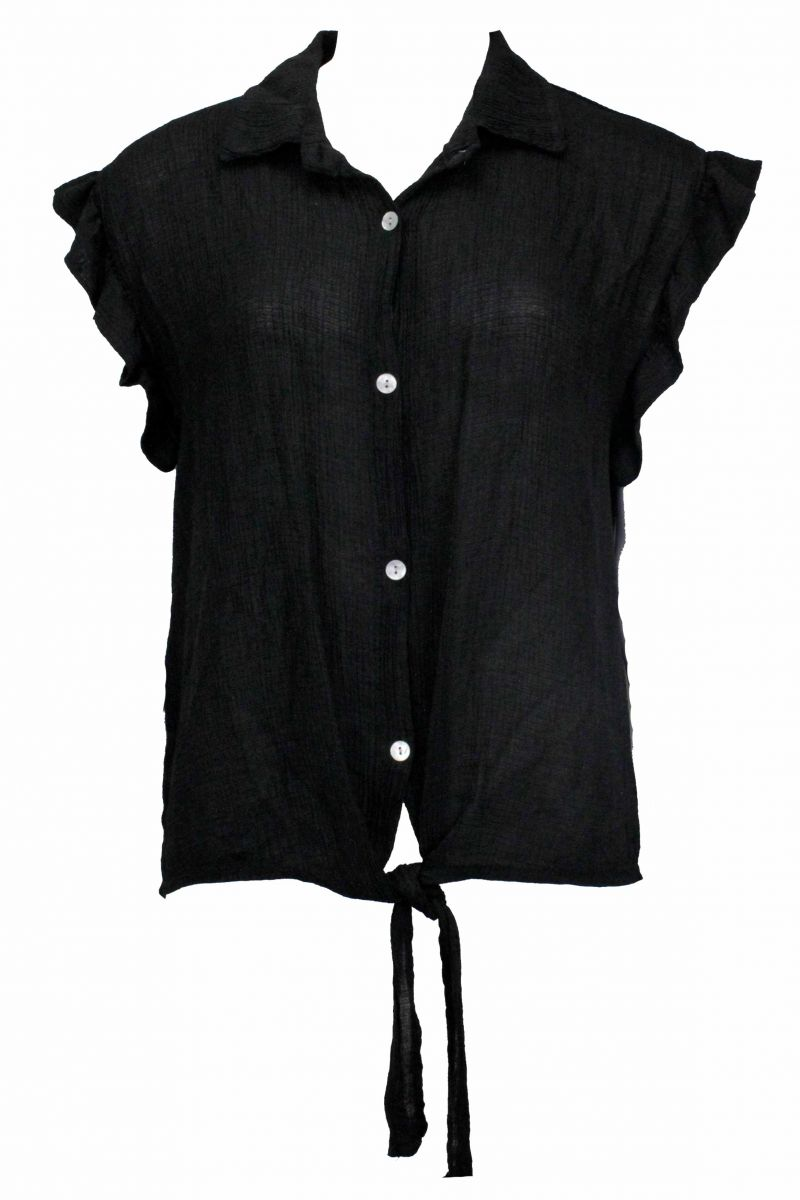Knot Top Amy Black