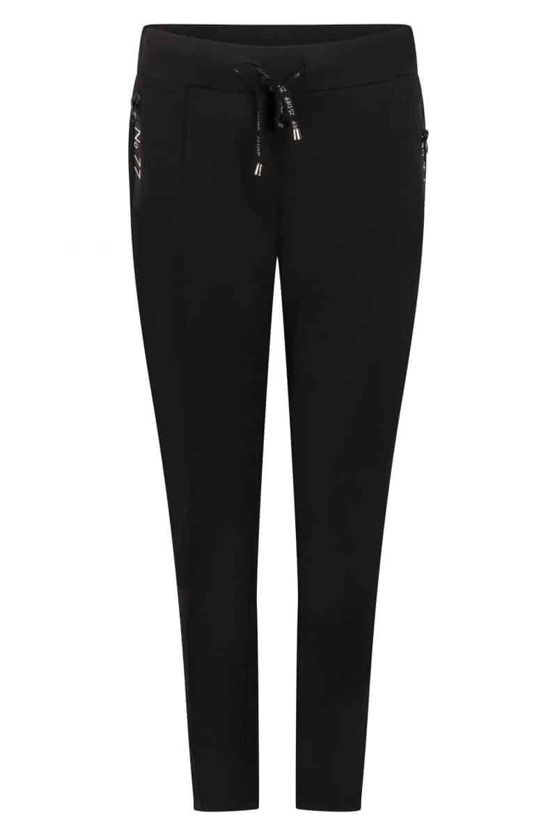 Zoso 215 Hope Sweat Pant With Techzippers Black