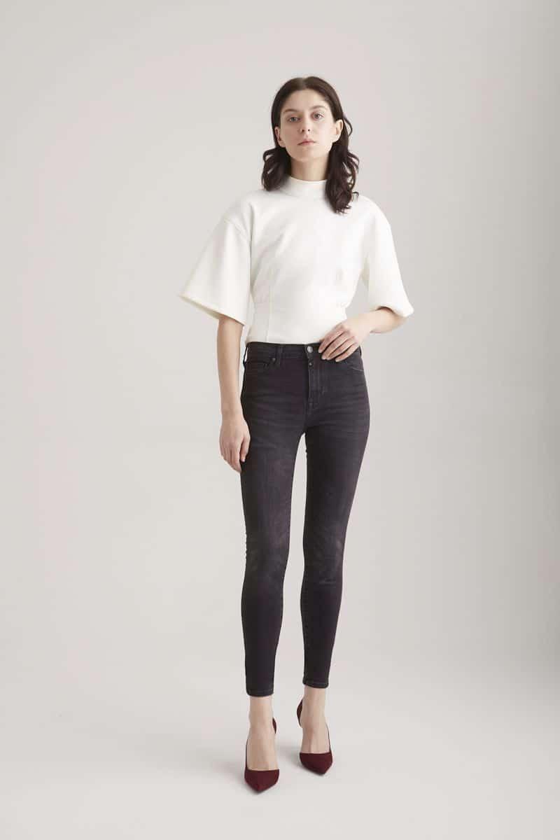 COJ Black Vintage Skinny Jeans Sophia