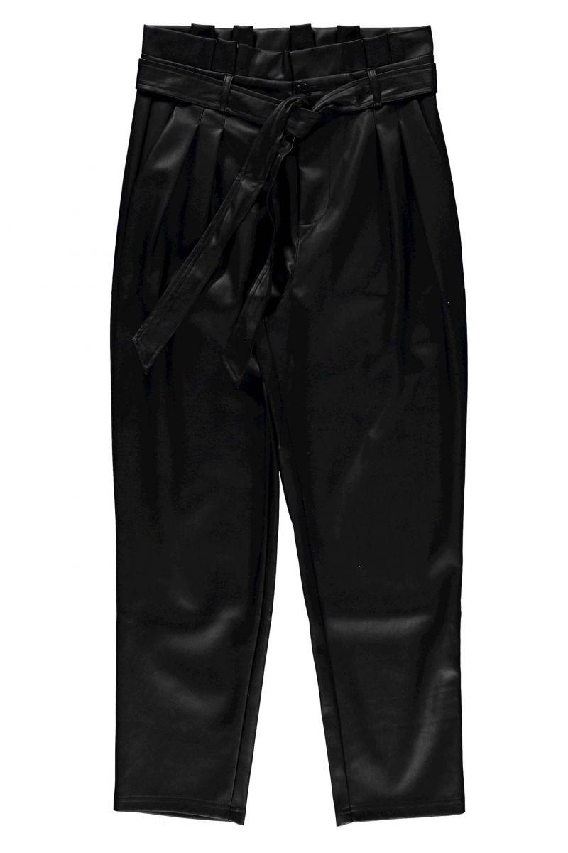Geisha Pants Belt PU Black