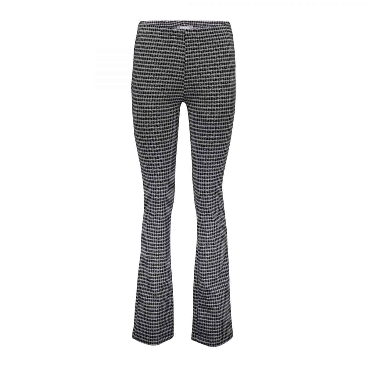 Geisha Pants Check Flair Black/Grey