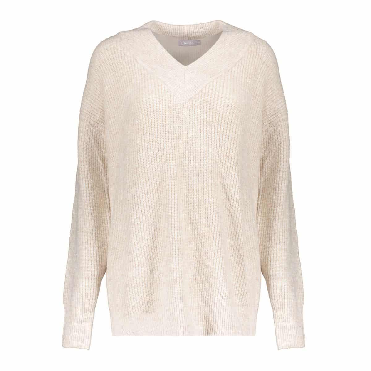 Geisha Lurex Pullover V-Neck