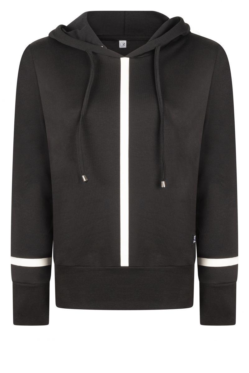 Zoso 215 Didi Hooded Sweater Techprint Black