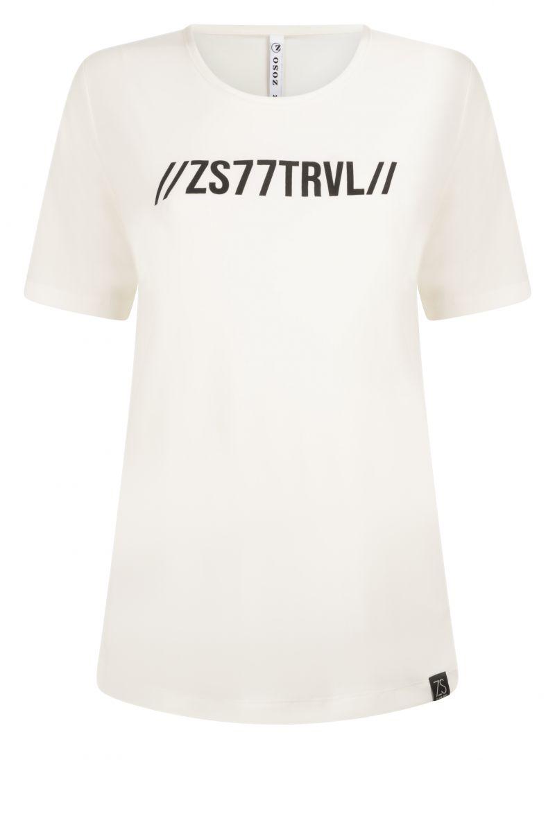 Zoso 215 Michelle Splendour T-Shirt White/Black