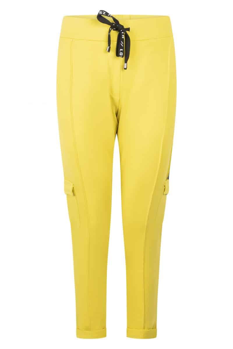 Zoso 215 Paloma Sporty Sweat Trouser Spice Yellow