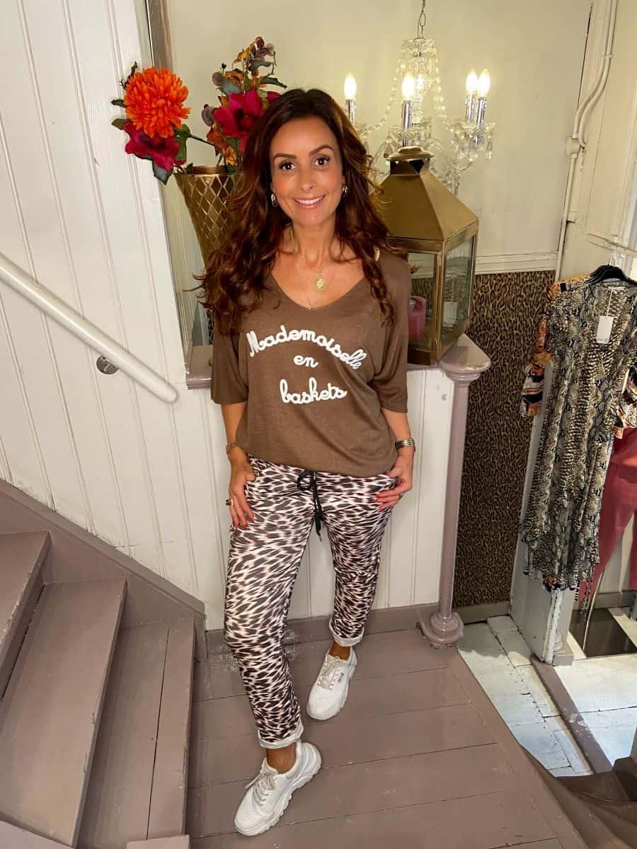 Triple Nine Comfy Broek Cheetah