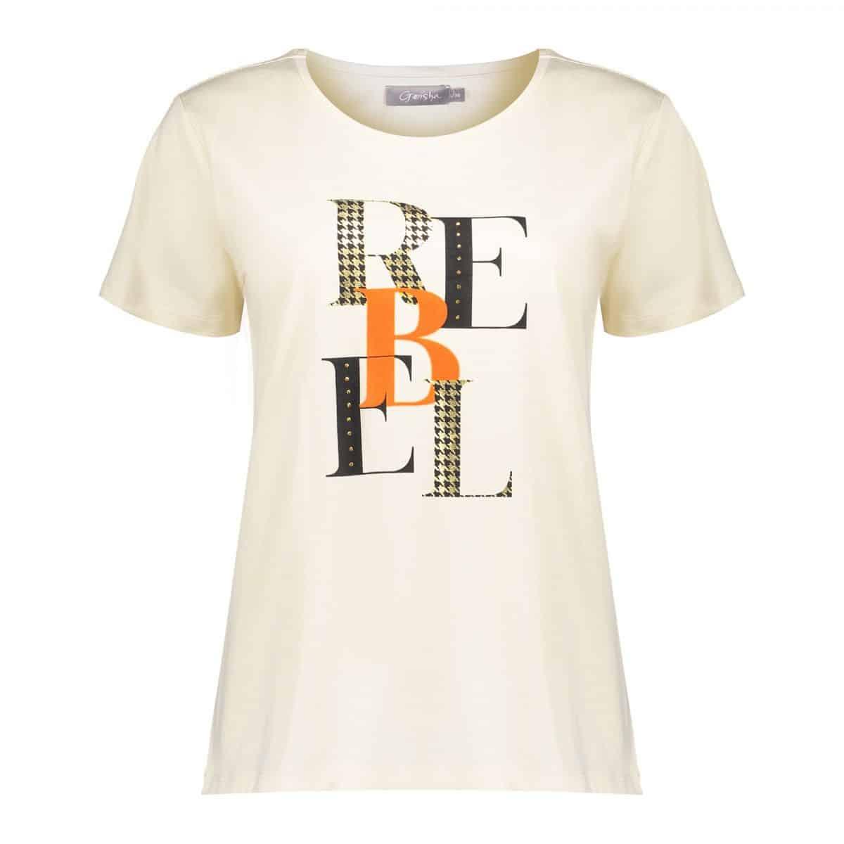 Geisha T-Shirt Rebel Sand Orange