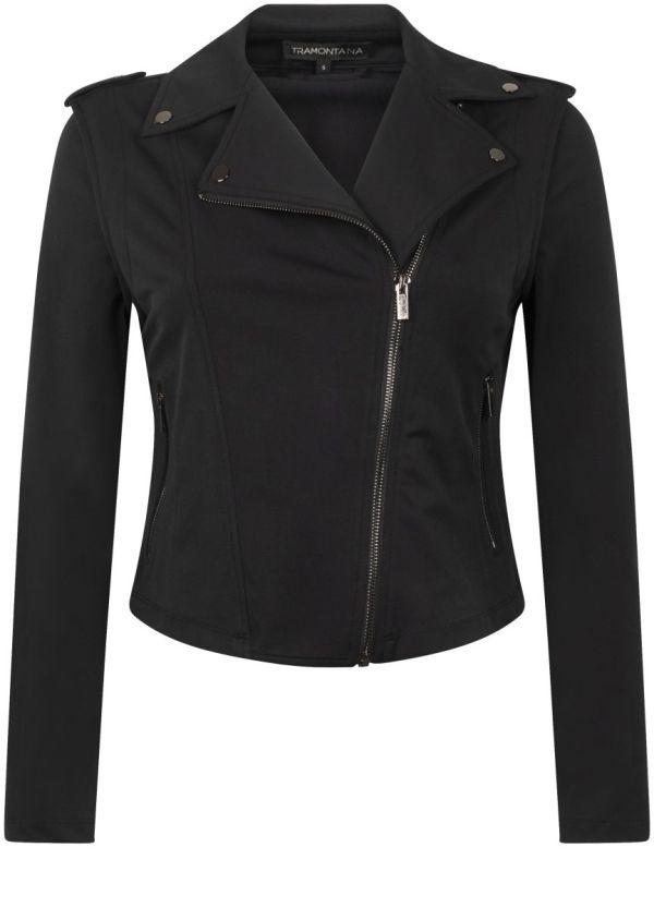 Tramontana Jacket Biker Black